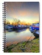 Barrow Sunrise In Motion 2.0 Spiral Notebook