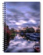 Barrow Sunrise In Motion Spiral Notebook