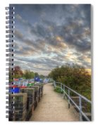 Barrow Sunrise Spiral Notebook