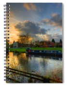 Barrow Sunset Spiral Notebook