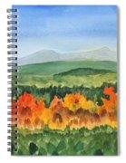 Barton Vermont Autumn Spiral Notebook
