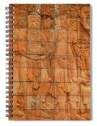 Bas Relief Spiral Notebook
