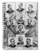 Baseball, 1894 Spiral Notebook