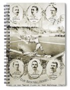 Baseball, 1895 Spiral Notebook