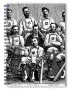 Baseball: Canada, 1874 Spiral Notebook