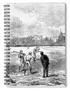 Baseball: England, 1874 Spiral Notebook