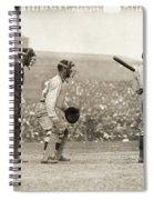 Baseball Game, 1908 Spiral Notebook