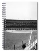 Baseball Game, C1912 Spiral Notebook
