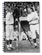 Baseball Players, 1920s Spiral Notebook