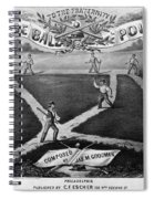 Baseball Polka, 1867 Spiral Notebook