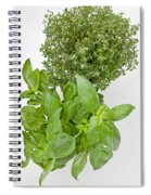 Basil And Thyme Spiral Notebook