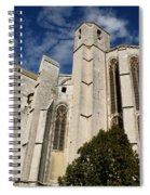Basilica Of Saint Mary Madalene Back View Spiral Notebook