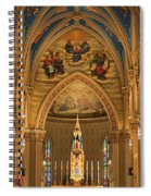 Basilica Of The Sacred Heart Spiral Notebook