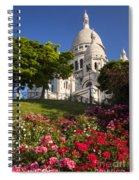 Basilique Du Sacre Coeur Spiral Notebook