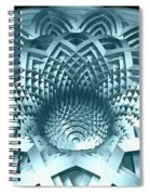 Basket Of Hyperbolae 02 Spiral Notebook