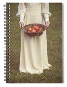 Basket With Fruits Spiral Notebook