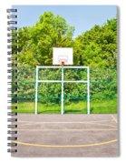 Basketball Court Spiral Notebook