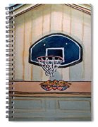Basketball Hoop Sketchbook Project Down My Street Spiral Notebook