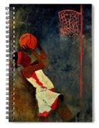Basketball Player Spiral Notebook