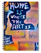 Basquait And Worhol Spiral Notebook