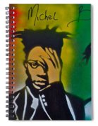 Basquait Me Myself And I Spiral Notebook