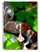 Bass Fiddle Spiral Notebook