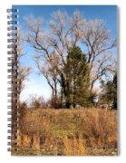 Bass Pond Trees 2012 Spiral Notebook