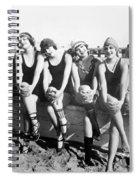 Bathing Beauties, 1916 Spiral Notebook