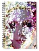 Bathing In Moonbeams Spiral Notebook