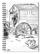 Bathing Machine, 1888 Spiral Notebook