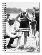Bathing Suits, 1922 Spiral Notebook