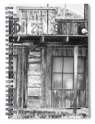 Baths Twenty Five Cents Bw Spiral Notebook