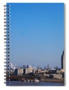 Baton Rouge Skyline Louisiana  Spiral Notebook