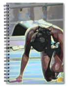 Baton Spiral Notebook