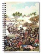Battle Of Bull Run, 1861 Spiral Notebook