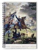 Battle Of Chantlly, 1862 Spiral Notebook