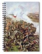 Battle Of Five Forks Virginia 1st April 1865 Spiral Notebook