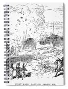 Battle Of Fort Erie, 1814 Spiral Notebook