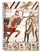 Battle Of Hastings Bayeux Tapestry Spiral Notebook