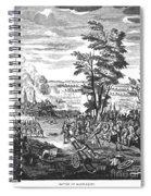 Battle Of Malplaquet, 1709 Spiral Notebook