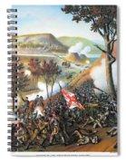 Battle Of Missionary Ridge Spiral Notebook