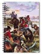 Battle Of Sedgemoor Spiral Notebook