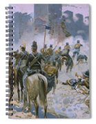 Battle Of Solferino And San Martino Spiral Notebook