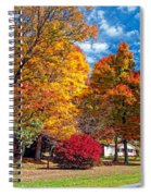 Battle Of The Maples Spiral Notebook