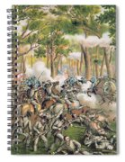 Battle Of The Wilderness May 1864 Spiral Notebook