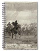 Battle Of Williamsburg Spiral Notebook