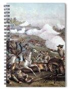 Battle Of Winchester, Spiral Notebook