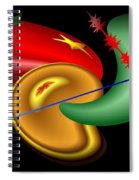 Baubles And Barbs Spiral Notebook