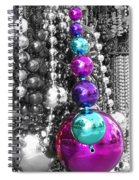Baubles Bangles And Beads Spiral Notebook