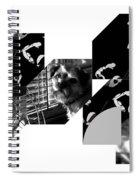 Bauhaus Ballet Toto Spiral Notebook